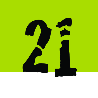 21 or Bust Logo
