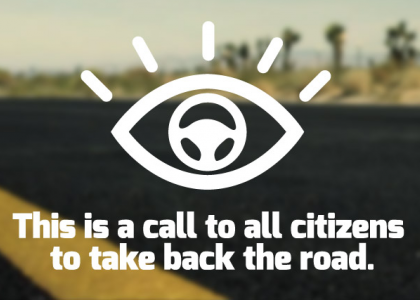 Report Distracted Driving Logo